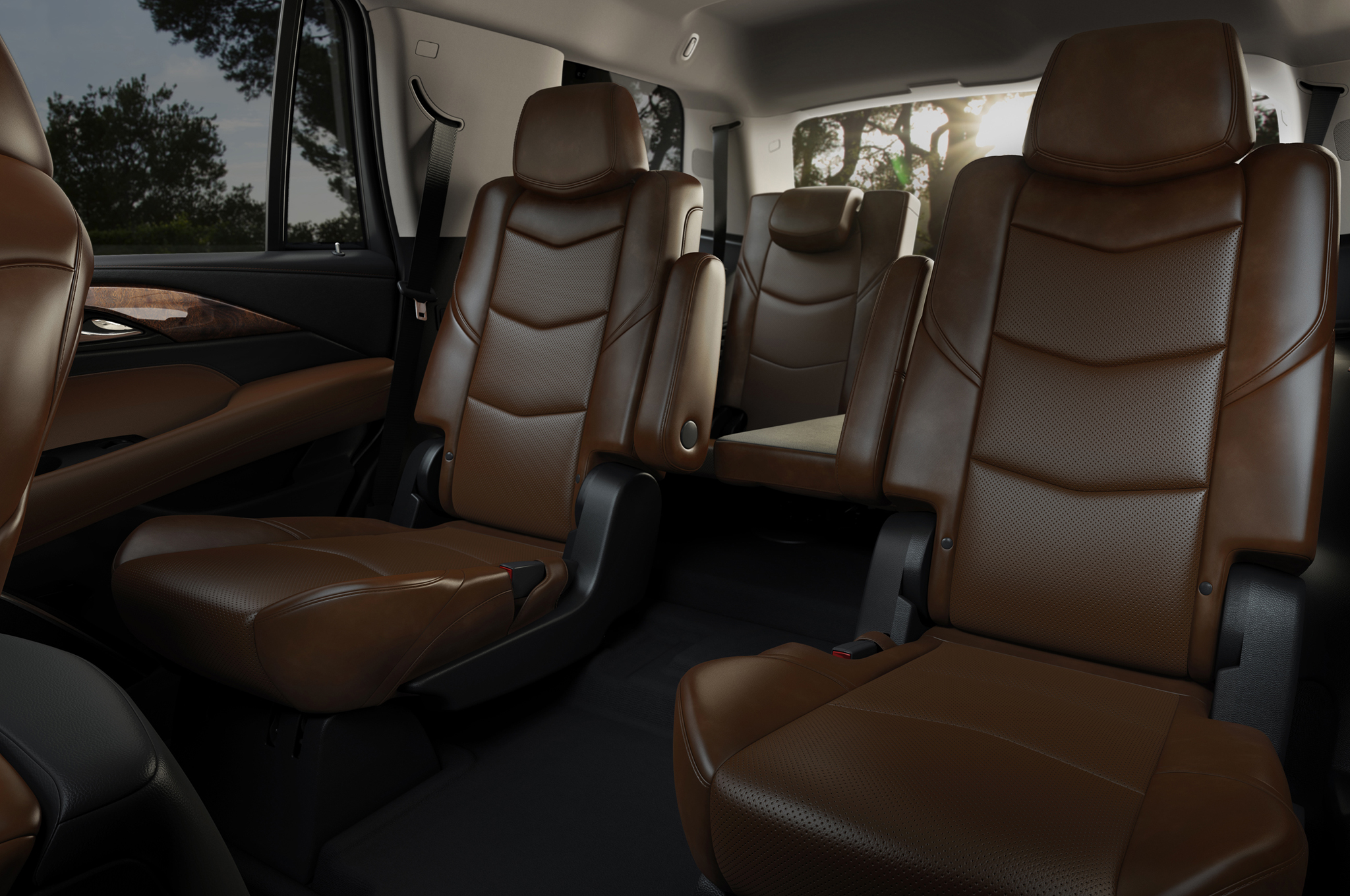 2015 Cadillac Escalade ESV Premium Interior Wallpaper   New York Car Service